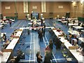 SZ1293 : Littledown: the 2017 election count is underway by Chris Downer