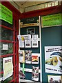 SD8164 : Christian literature in decommissioned phone box by Rose and Trev Clough