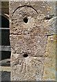 SU2499 : Mass dials, Church of St George, Kelmscott, Oxfordshire by Brian Robert Marshall