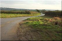 SX0877 : Lane to Hengar by Derek Harper