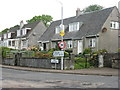 NS0374 : Houses at Ferry Bank, Colintraive by M J Richardson