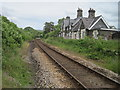 SH8104 : Cemmes Road railway station (site), Powys by Nigel Thompson