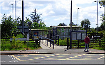 NZ2624 : Newton Aycliffe railway station by Thomas Nugent