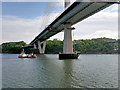 NT1179 : The Southern End of the Queensferry Crossing by David Dixon