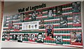 SK5803 : Leicester Tigers Wall of Legends by Mat Fascione