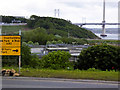 NT1281 : Queensferry Crossing, Upgrading the Access Roads at North Queensferry by David Dixon