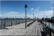TM2532 : Ha'penny Pier, Harwich by Matt Harrop
