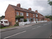 SE5947 : Cottages - Church Lane by Betty Longbottom