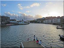 ST5772 : Bristol sunset by John Sutton