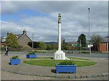 NT5247 : Lauder War Memorial by JThomas