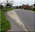 SP1039 : Leamington Road bus stop near Willersey by Jaggery
