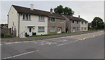 ST3090 : Four Pillmawr Road semis, Malpas, Newport by Jaggery