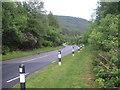 NS1483 : The A815 at Rashfield by M J Richardson