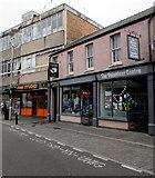 SS9079 : Volunteer Centre, Queen Street, Bridgend town centre by Jaggery