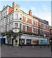 ST3088 : Thomas Cook travel agents on a city centre corner, Newport by Jaggery