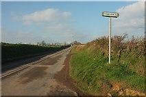 SW9843 : Road near Tregerrick by Derek Harper