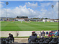 ST5975 : Bristol: watching County Cricket at Nevil Road by John Sutton
