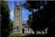 TL2702 : St Thomas A Becket church at Northaw by Robert Eva