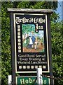 SO6671 : Inn sign of Live and Let Live Inn inn sign by Philip Halling