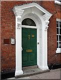 SO5139 : Detail of 5 St John Street, Hereford by Stephen Richards