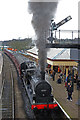 SD7916 : Vintage locomotive at Ramsbottom Station by Chris Allen