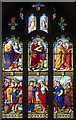 TL4090 : St Mary, Doddington -  Stained glass window by John Salmon