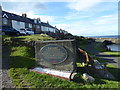 NU2519 : War Memorial at Craster by PAUL FARMER