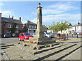 NU1033 : War Memorial at Belford by PAUL FARMER