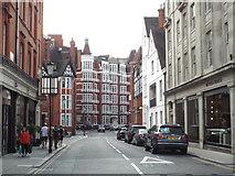 TQ2779 : Hans Crescent, near Knightsbridge by Malc McDonald