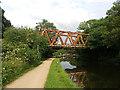 SE1739 : Esholt sewage works: former railway bridge by Stephen Craven