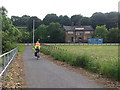 SE1535 : Shipley Greenway below Stanley Road by Stephen Craven