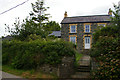 SN0638 : Last house in the village, above Newport / Trefdraeth by Christopher Hilton
