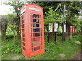 SU7790 : K6 Telephone Box in Skirmett by David Hillas