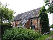SO9662 : Back of Chapel-of-Ease, Woolmere Green, Hanbury by Jeff Gogarty
