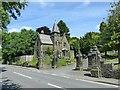 SK3449 : Belper Cemetery entrance by Alan Murray-Rust