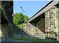 SK3451 : Railway bridges at Ambergate by Alan Murray-Rust