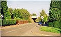 SJ3045 : Approaching site of former Johnstown & Hafod station, 1999 by Ben Brooksbank