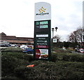 SO9568 : December 3rd 2016 Morrisons fuel prices, Bromsgrove by Jaggery