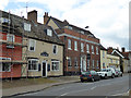 TM0855 : Limes Hotel and its Bugs Bar, Needham Market by Robin Webster