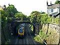 SK3447 : Long Row railway bridge by Alan Murray-Rust