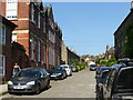 SK3447 : Long Row, looking up from Bridge Street by Alan Murray-Rust