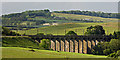 NU2212 : Alnmouth viaduct by Thomas Nugent