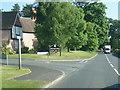 SJ6269 : Whitegte Lane at entrance to Vale Royal Abbey by Colin Pyle