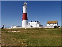 SY6768 : Portland Bill Lighthouse by David Dixon