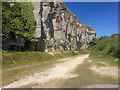 SY7071 : South West Coast Path, Grove Cliff by David Dixon