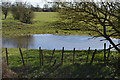 TL3571 : Pond by Ouse Valley Way by N Chadwick