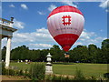 TL0835 : English Heritage hot air balloon at Wrest Park by Richard Humphrey