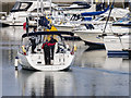 J5082 : Yacht 'Merry Jack' at Bangor by Rossographer