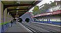 TQ2382 : Kensal Green station, DC Lines platforms, 2007 by Ben Brooksbank