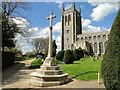 TL8646 : Long Melford War Memorial by Adrian S Pye